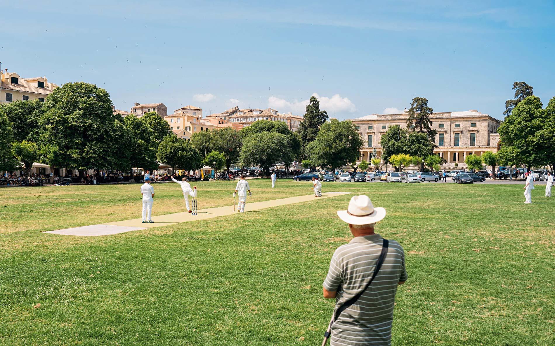 visit corfu activities cricket