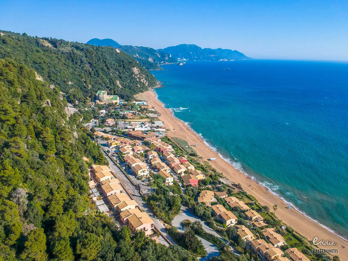 visit corfu beaches glyfada 1