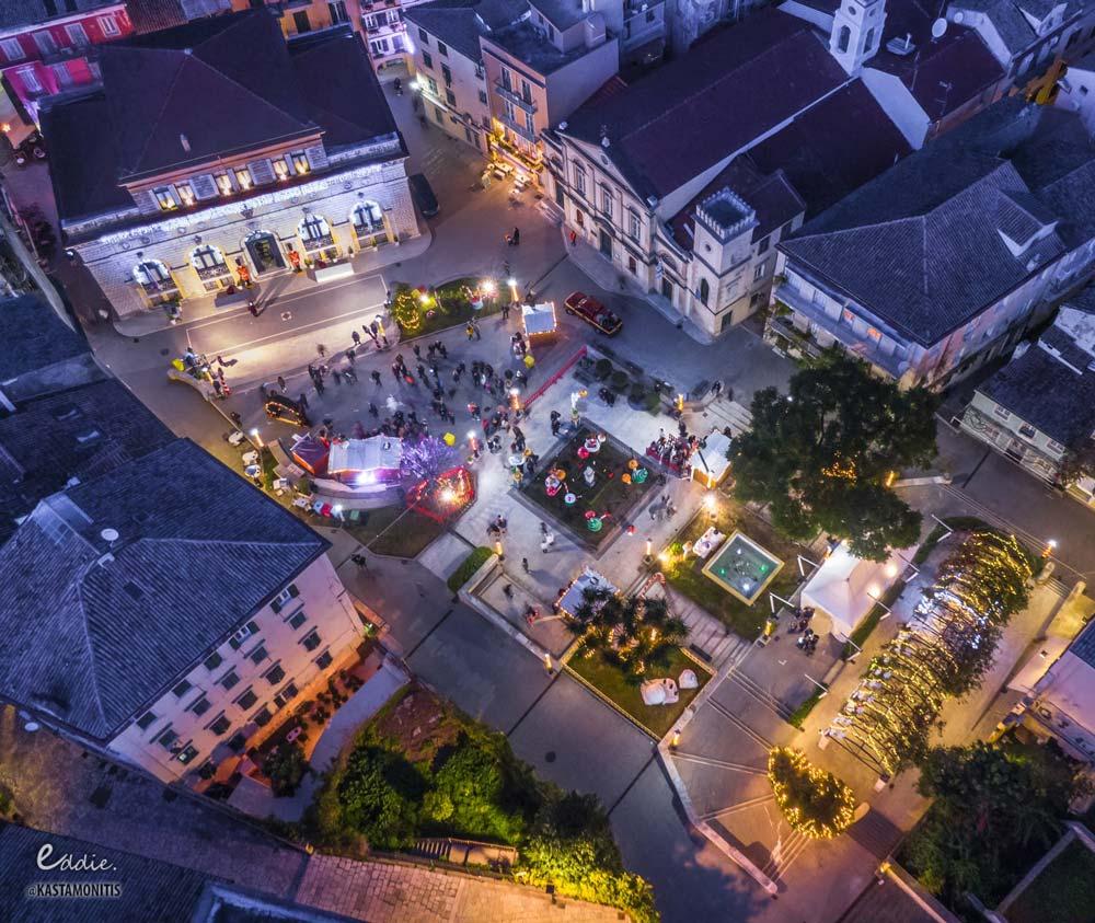 visit corfu events christmas village 1