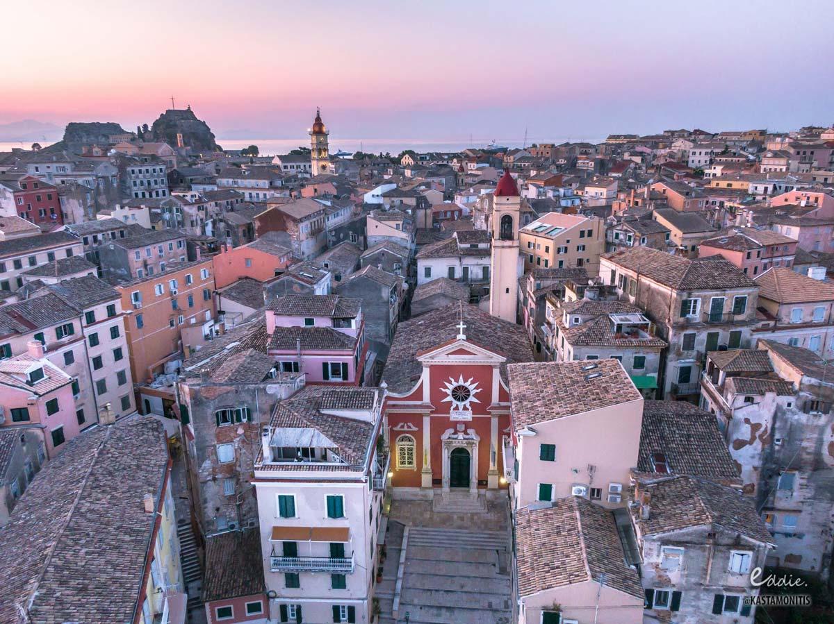 visit corfu religious sites