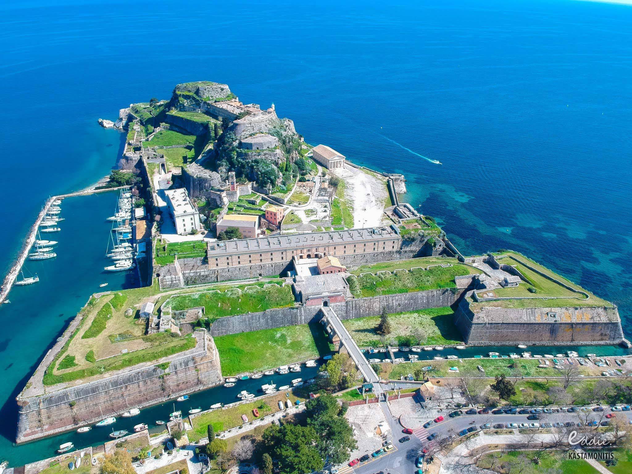 visit corfu sights old fortress 3