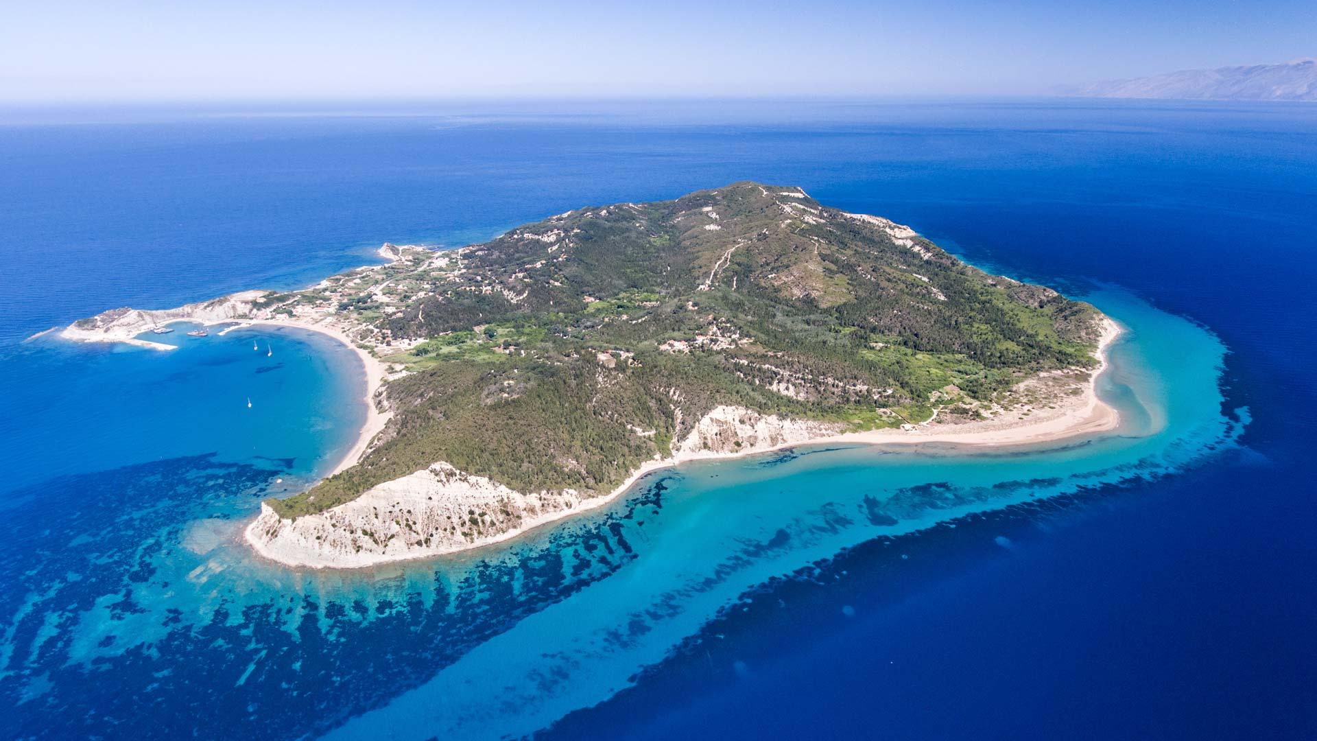 hotelerikousa erikousa island aerial drone slider image 3
