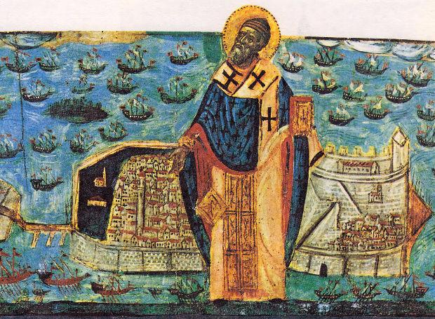 Agios Spyridon Kerkyra 1716