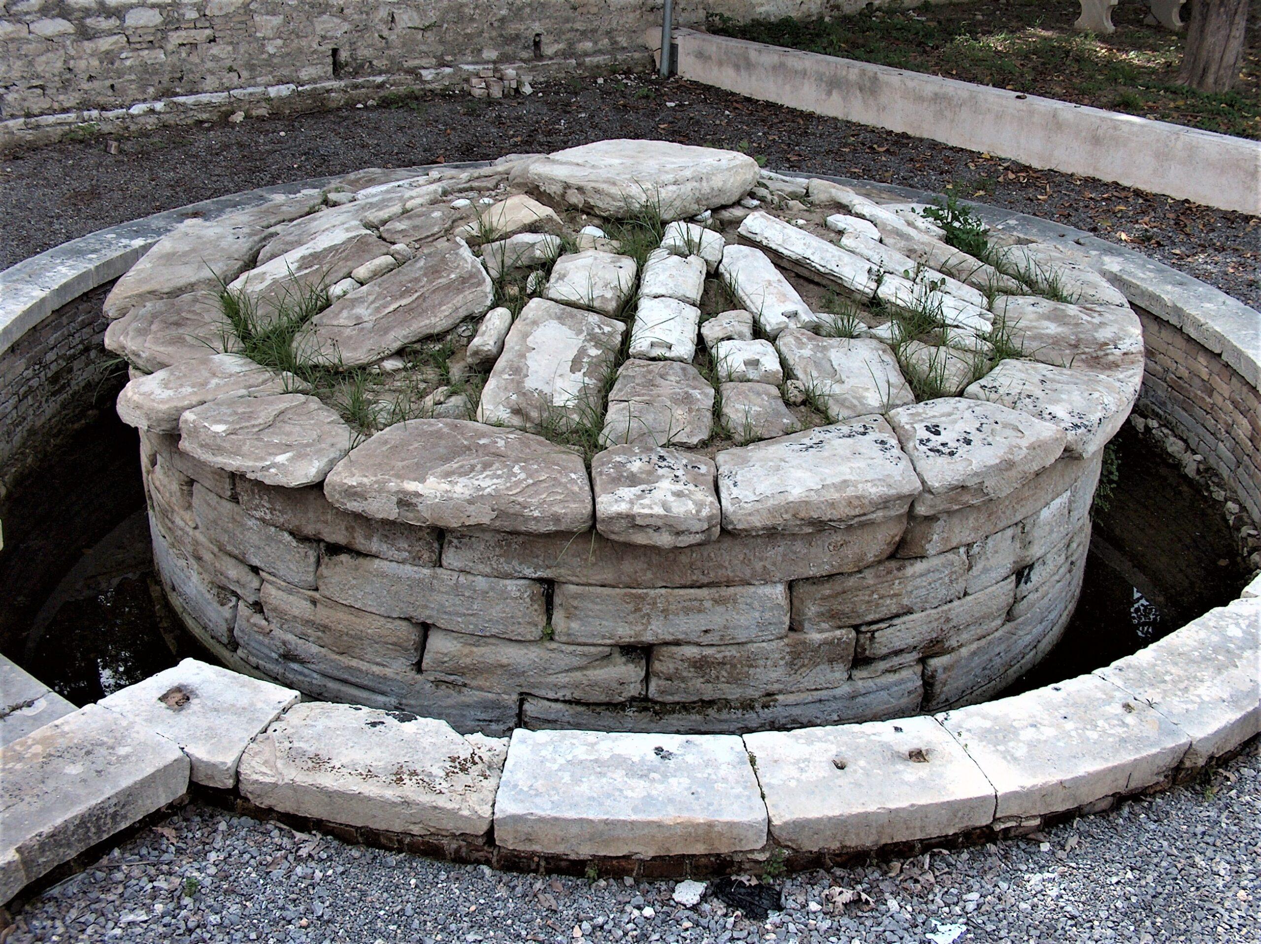 Tomb of Menekrates in Corfu