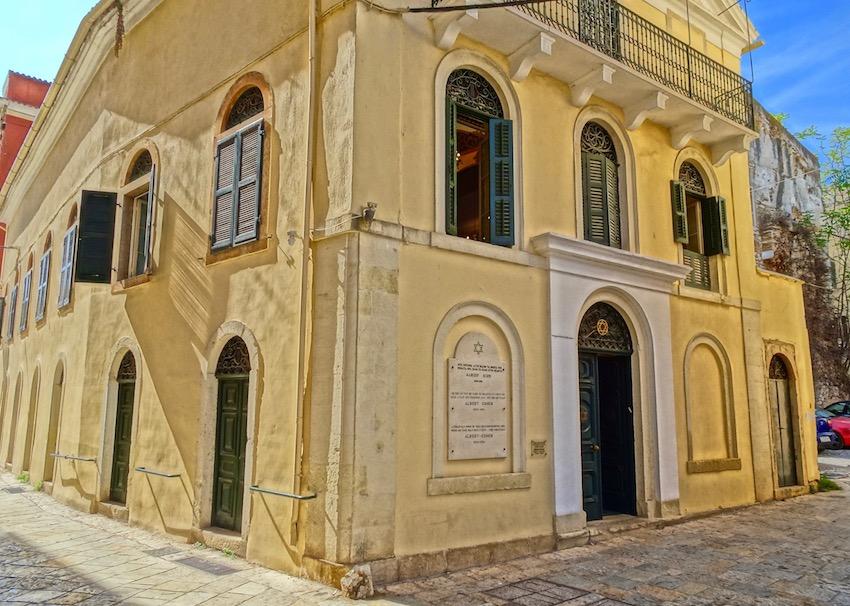 synagogue corfu
