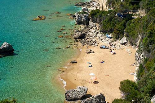 mirtiotissa corfu beach