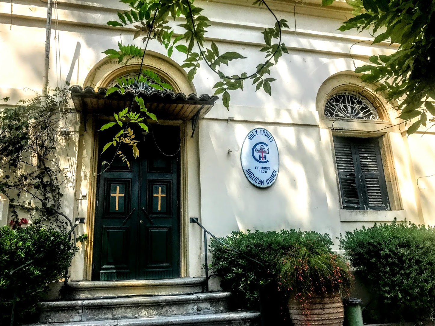 Holy Trinity Church 2 Patrick Comerford Corfu 2019