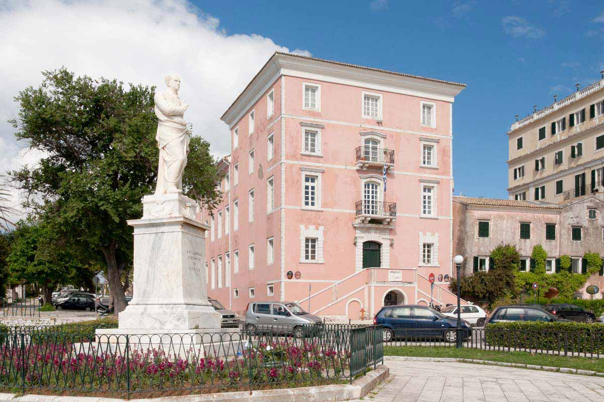 carpofoli corfu suites places of interest ionios acadimia greece 02