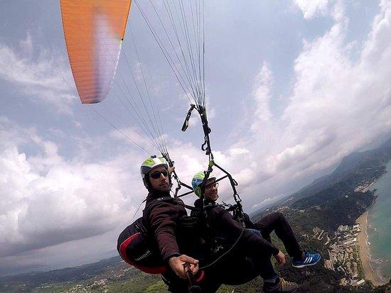 corfu paragliding tandem